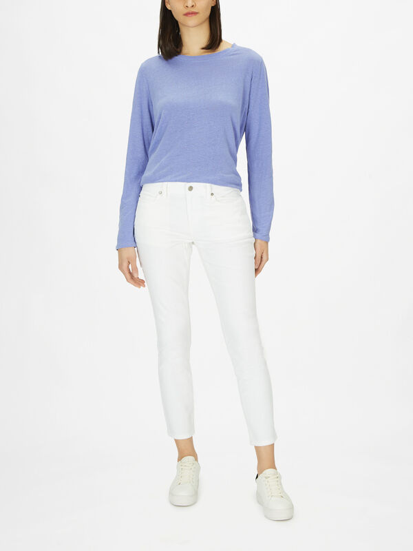 Slim Organic Cotton Stretch Ankle Jean