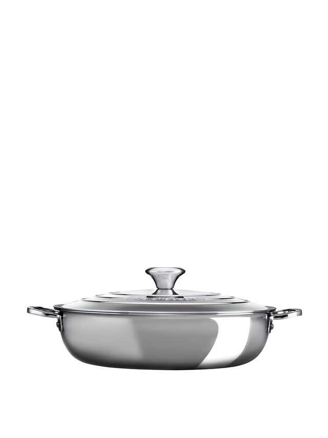 Signature Stainless Steel 30cm Shallow Casserole