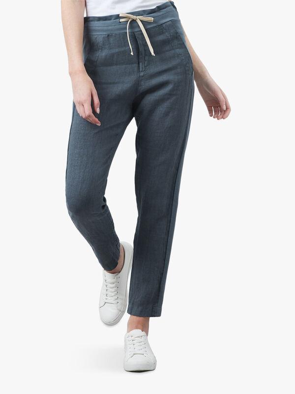Jersey Linen Pants