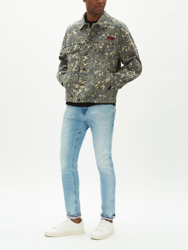 Camo Trucker Jacket
