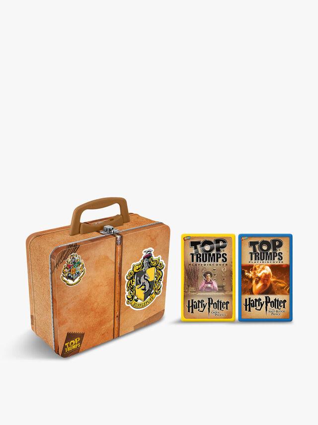 Harry Potter Hufflepuff Top Trumps Collectors Tin