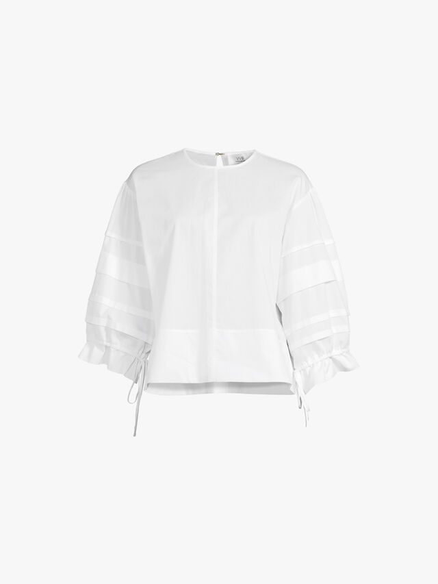 Layer Detail Oversized Top