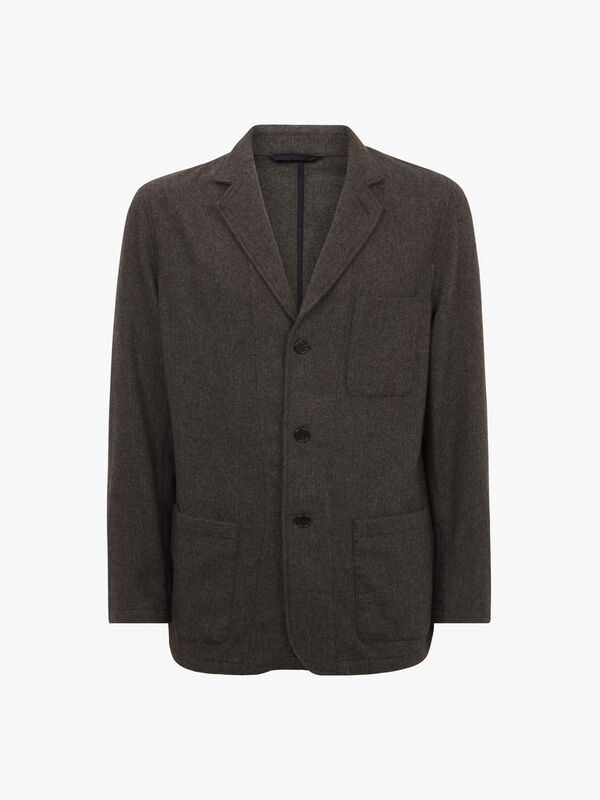 Washable Wool Blazer