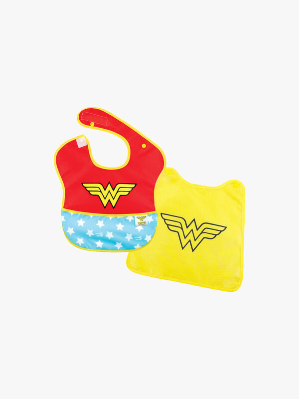 Wonder Women Caped Bib