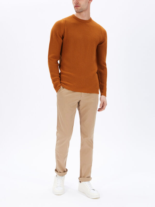 8.Singular Chunky Textured Knit