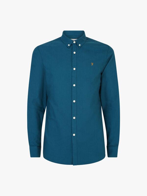 Brewer Slim Fit Oxford Shirt