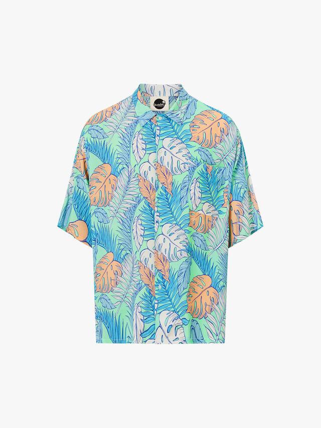 Palmtopia Open Collar Shirt