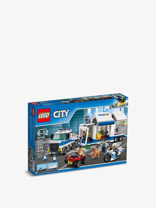 City Police Mobile Command Center Truck Toy
