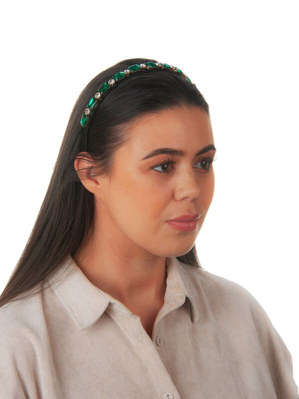 Thin Gem Crown Headband