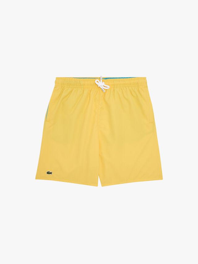 Quick-Dry Solid Swim Shorts