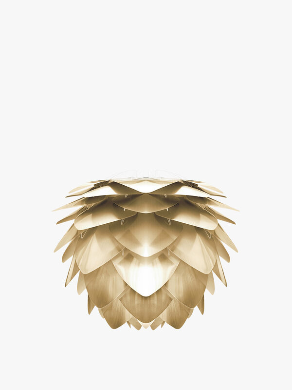 Silvia Brushed Brass Ceiling Light
