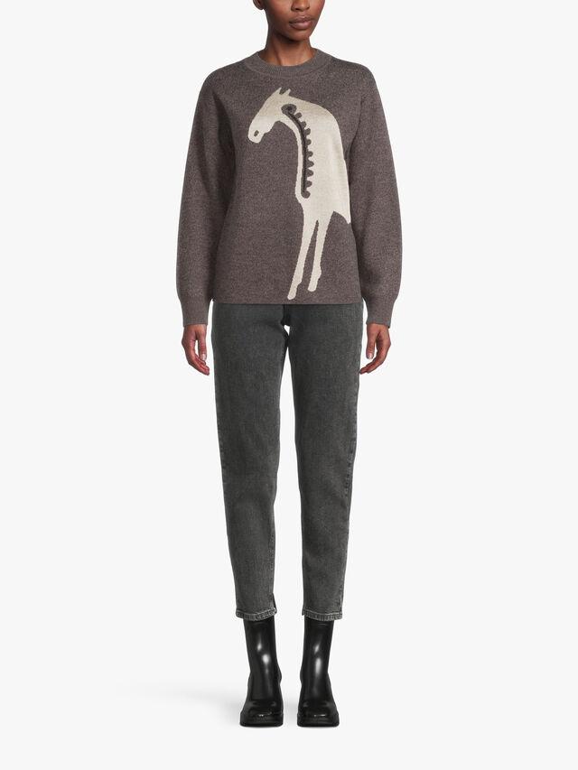 Metsikkö Musta Tamma Knitted Pullover