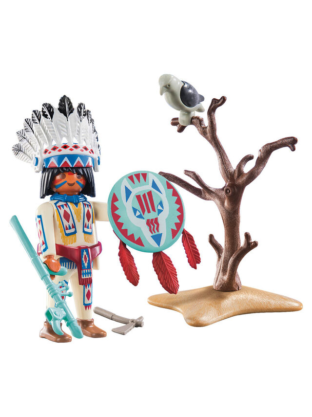 Special Plus Native American Chief