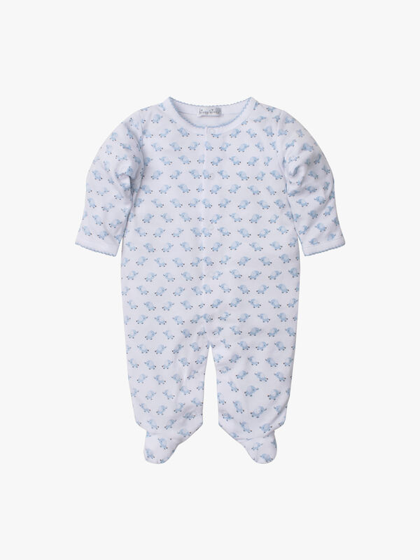 Baby Trunks Footie Print