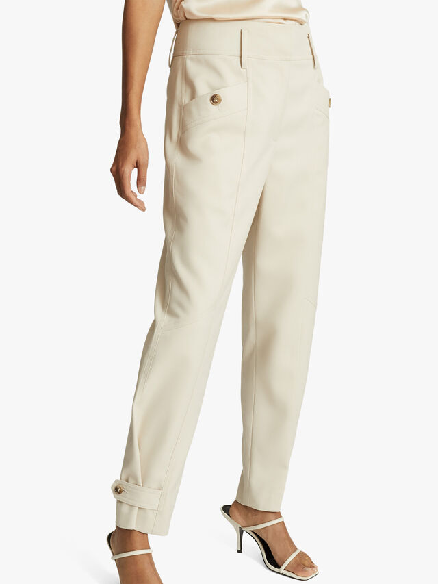 MADELINE Front Pocket Tapered Trousers