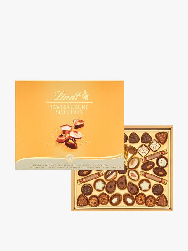 Lindt Swiss Luxury Selection Chocolate Box 445g