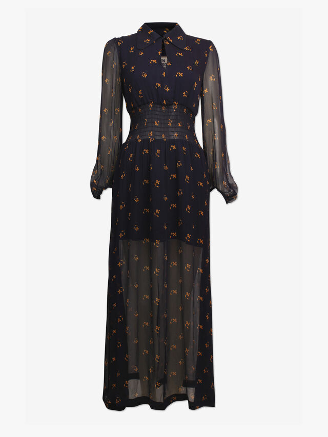 Amber Paw Dress
