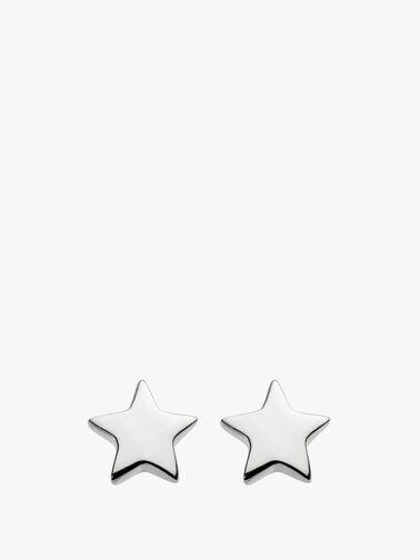 Solid Star Stud Earrings