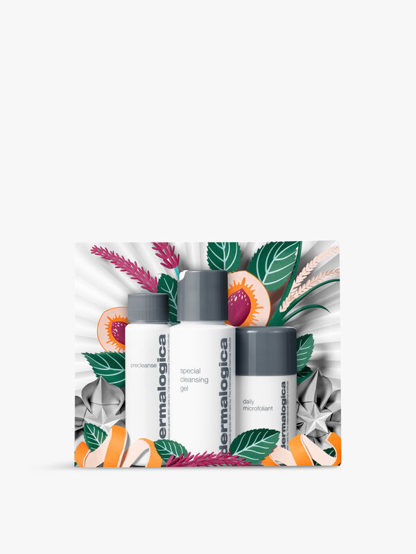 Cleanse and Glow to Go Gift Set