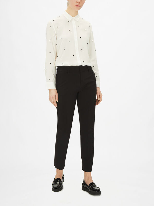 Kim Tropical Wool Trouser