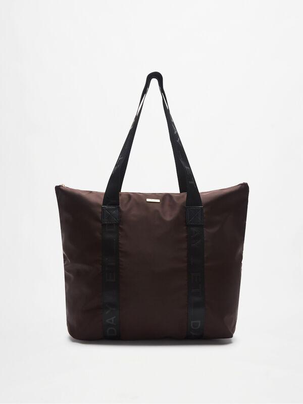 Day RE-Logo Band Shoulder tote Bag M