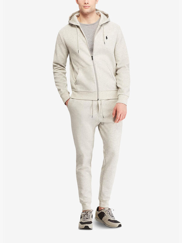 Double-Knit Full-Zip Hoody