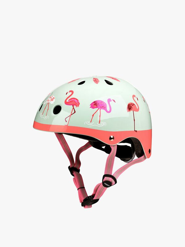 Micro Deluxe Flamingo Helmet - Medium