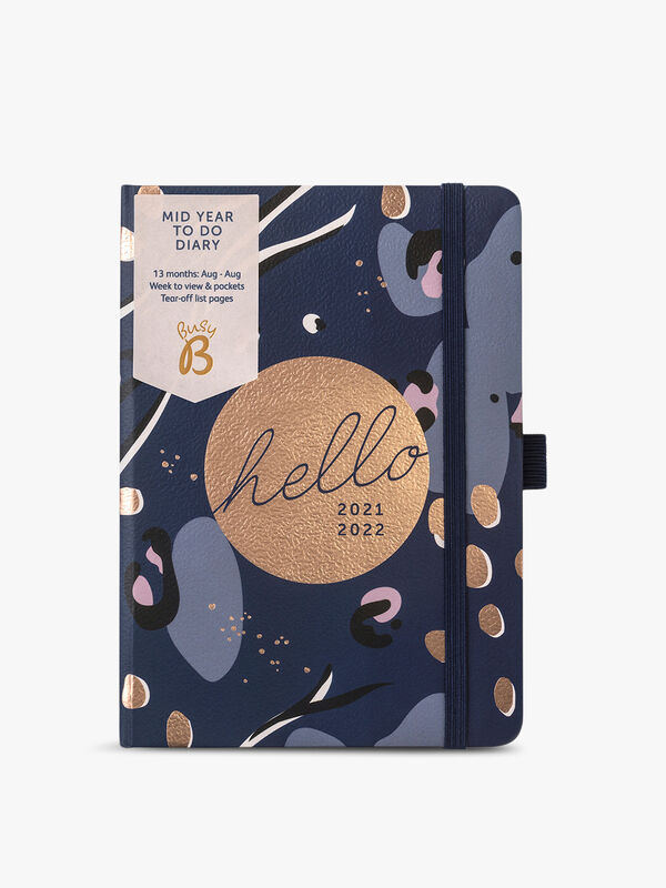 13 Month To Do Diary 2021/22