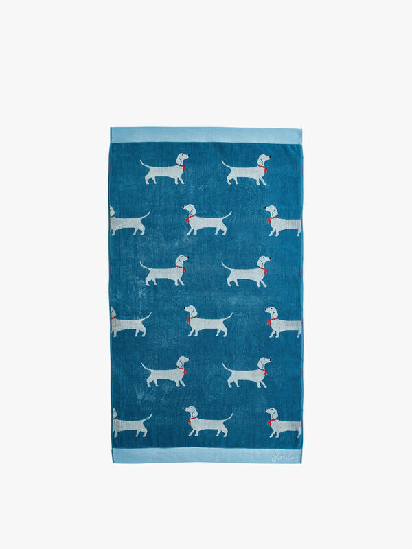 Sausage Dog Bath Towel