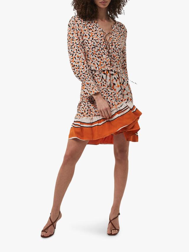 Ellie Mix Long Sleeve Dress