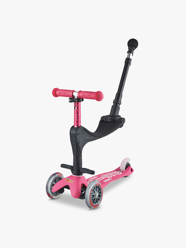 Mini Micro 3 In 1 Deluxe Push Along Scooter