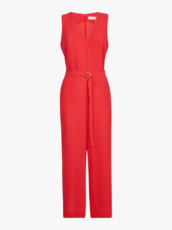 D Ring Belt Jumpsuit