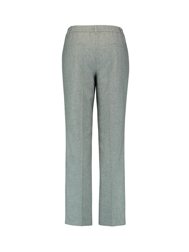 Classic Fit Wool-Mix Flannel Trouser