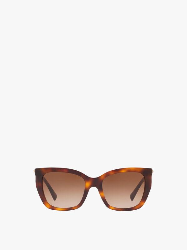 Stud Temple Sunglasses
