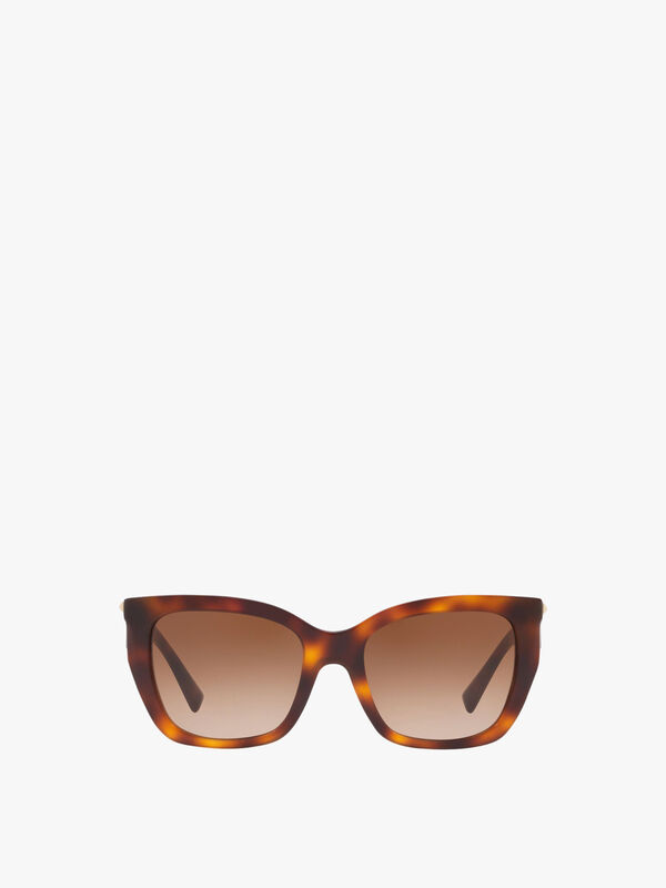 Stud Temple Sunglasses