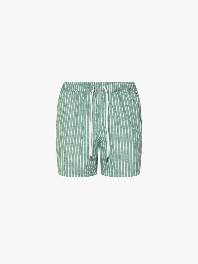 Maldive Striped Swim Short