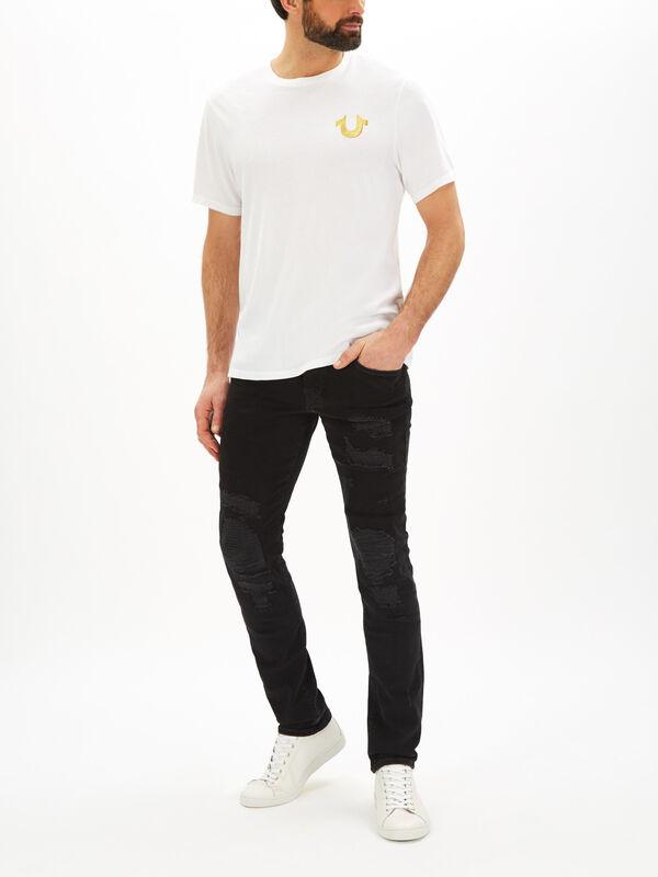 Metallic Gold Buddha T-Shirt