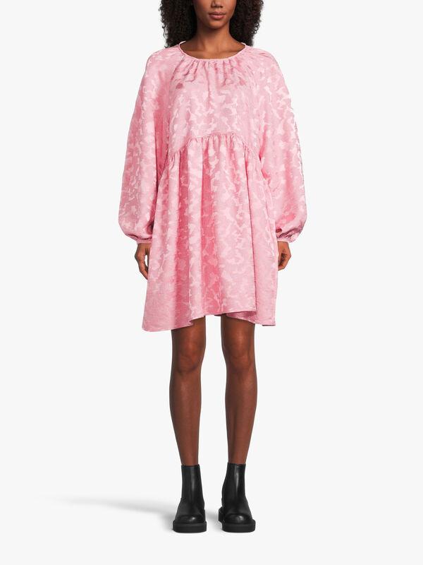 Kelly Puff Sleeve Short Dress
