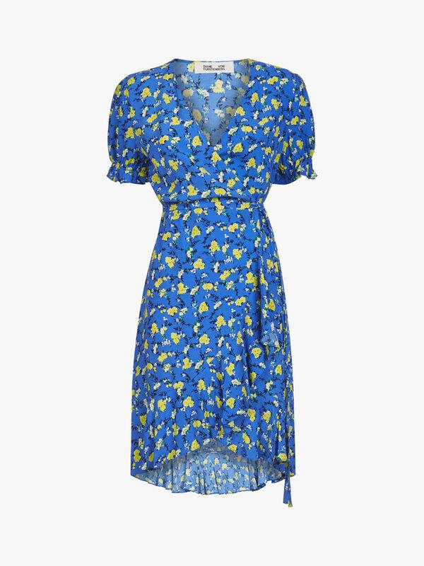 Emilia Capped Sleeve Mini Dress
