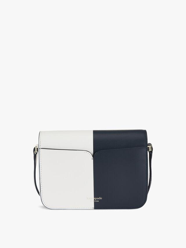 Nicola Bicolour Small Flap Shoulder Bag