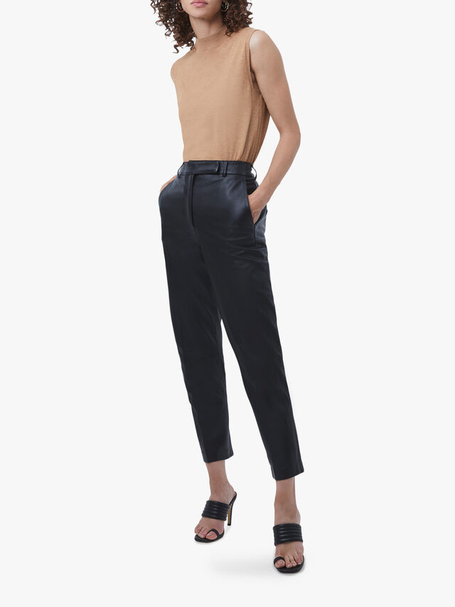 Alaricia Leather Trousers