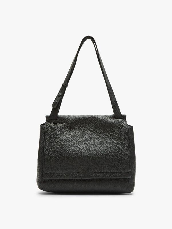 Ethna Large Flap Shoulder Bag