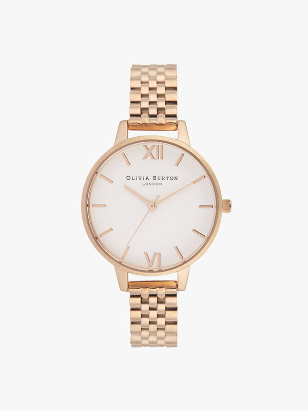 Classics Rose Gold Bracelet Watch