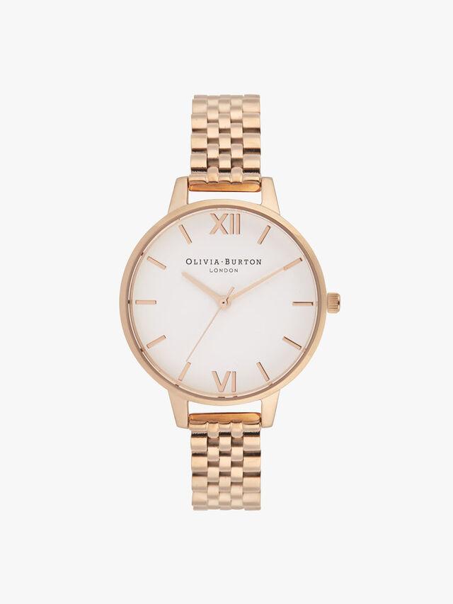 Classics Rose Gold Bracelet Watch