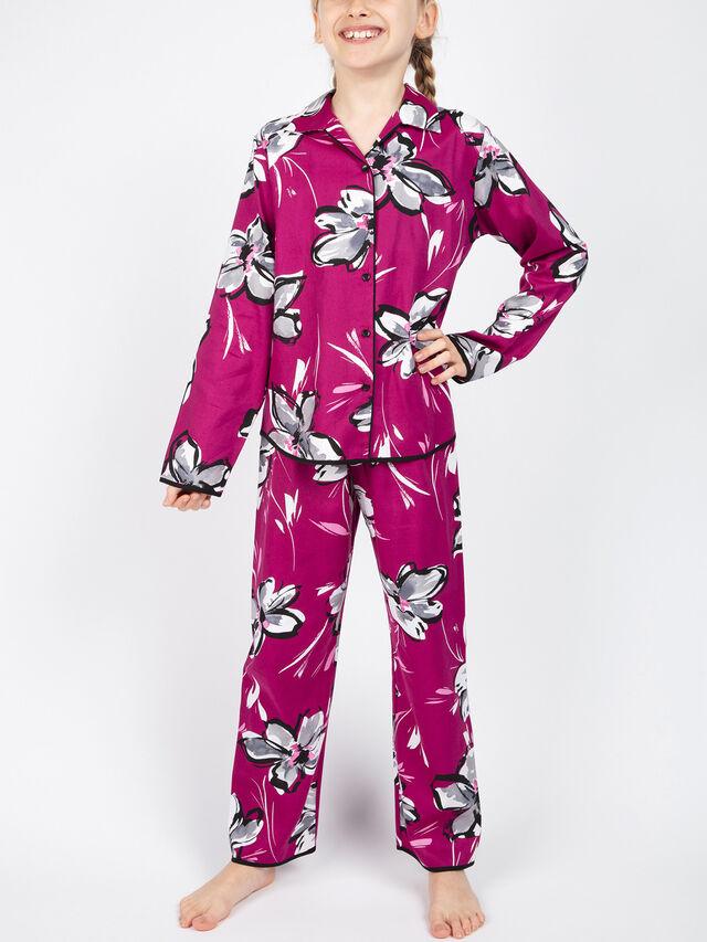 Natasha Floral Long Sleeve Pyjama