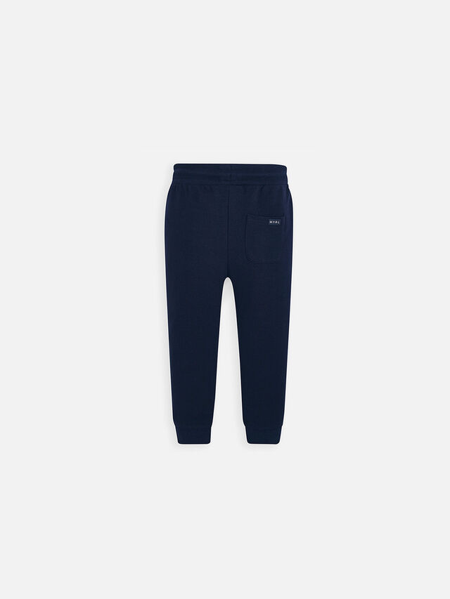 Basic Cuffed Fleece Trousers