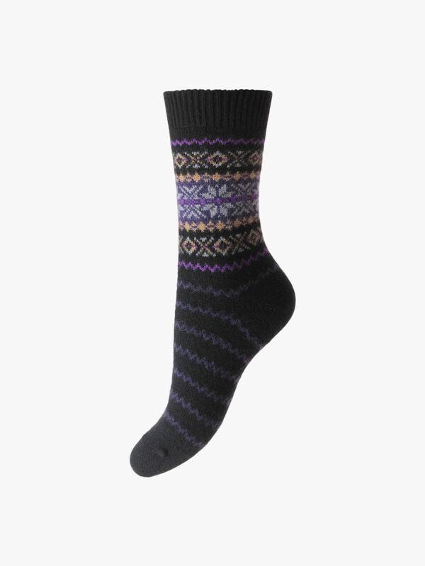 Betty Fairisle Sock