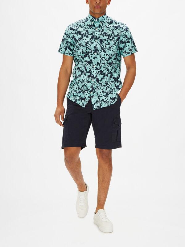 Tidal Bloom Check Short Sleeve Shirt