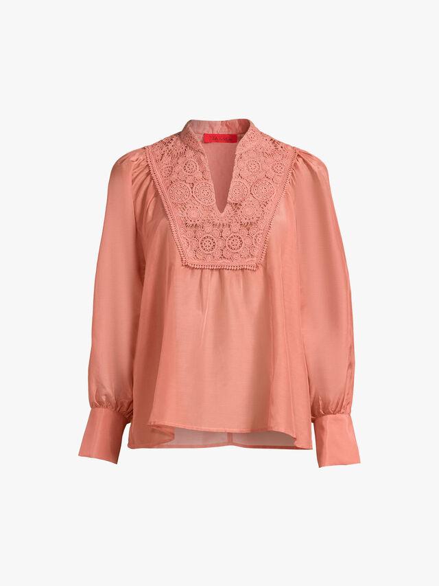 Albenga Crochet Detail Blouse