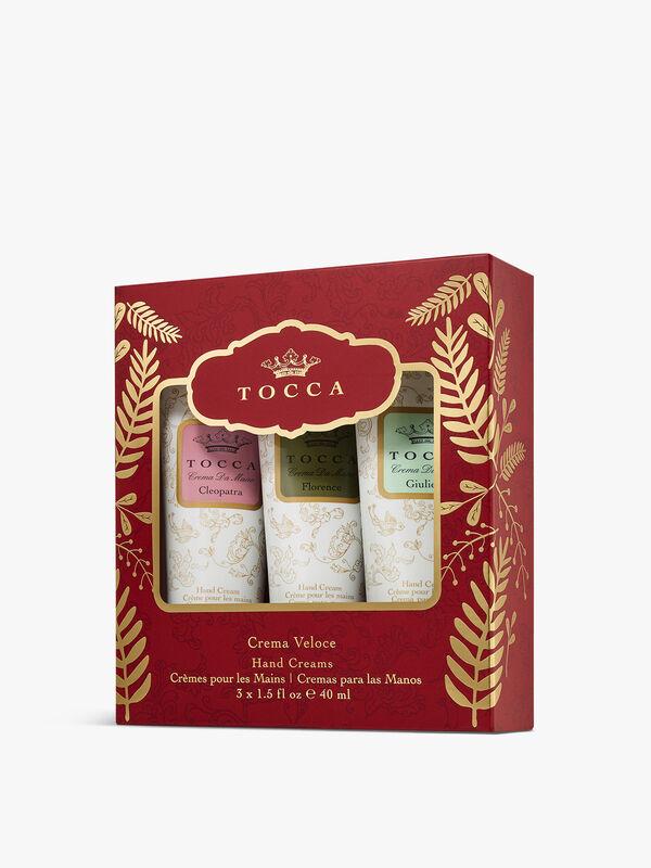 Crema Veloce Holiday 3 x 40ml Handcreams